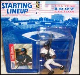 SLU - 1997  FRANK THOMAS Starting Lineup Card - CHICAGO WHITE SOX CD