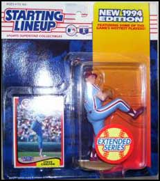 MLB Starting Lineup Steve Carlton Philadelpia Phillies-1994 w// Collector Card