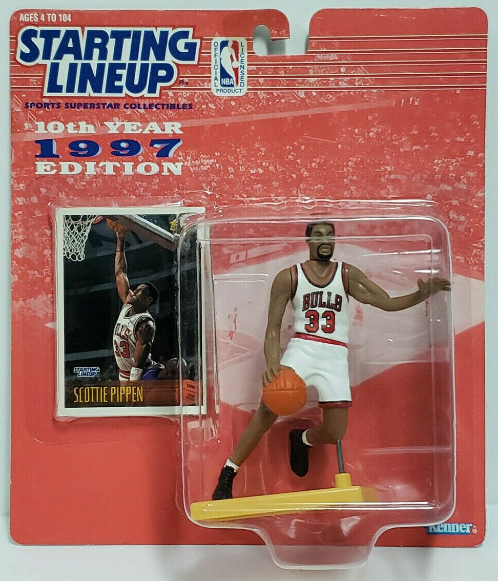 1996 USA Olympic Kenner Starting Lineup Scottie Pippen Open Loose Chicago Bulls